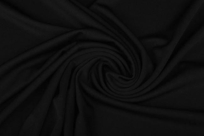 Dzianina kostiumowa w kolorze czarnym 0640/999