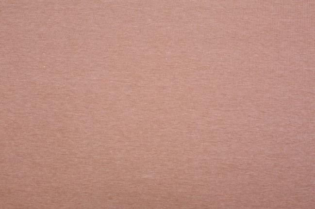 Dzianina elastyczna w kolorze beżowego melanżu 07700/052