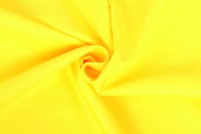Bawełniane płótno jasno żółtym z Oeko-Tex 01805/034
