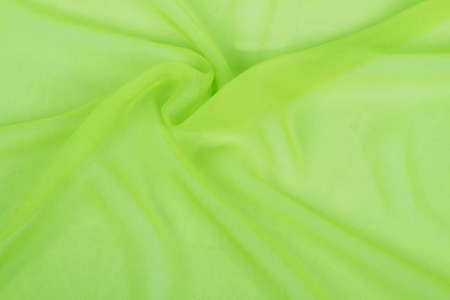 Szyfon w kolorze zielonego groszku 03969/023