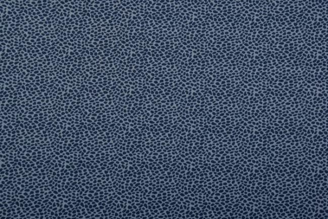 Tkanina bawełniana niebieska z drobnym wzorem 128.750.3002