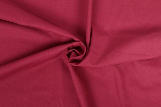 Bawełniane płótno bordowe z Oeko-Tex 01805/018