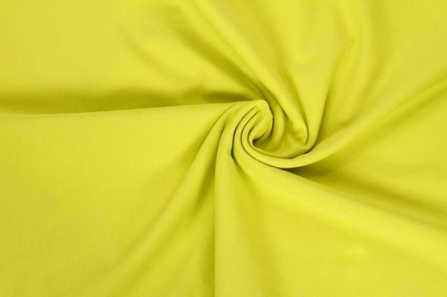 Dzianina bawełniana w kolorze zielonego groszku 05438/022