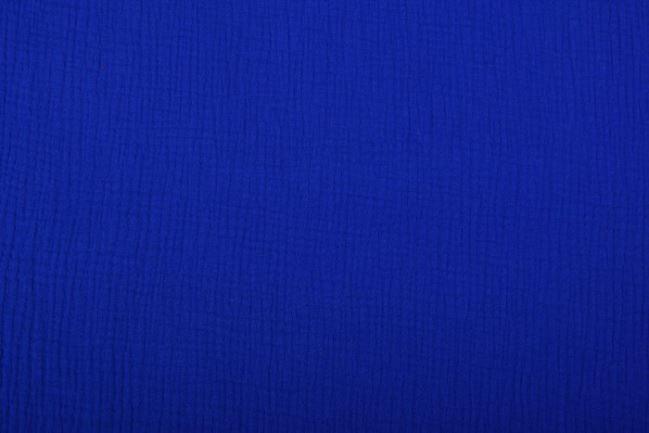 Muślin w kolorze kobaltu 03001/005