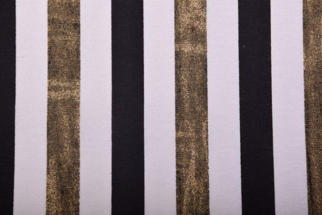 Tkanina dekoracyjna w paski 1289/080