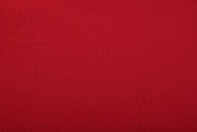 Muślin w kolorze czerwonym 03001/015