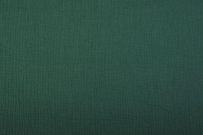 Muślin w kolorze ciemno zielonym 03001/028