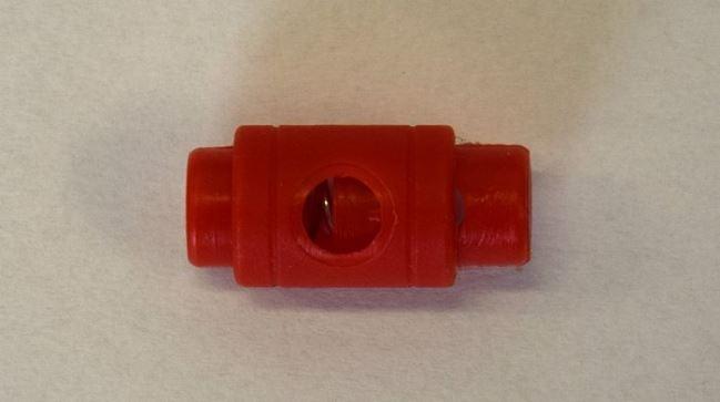 Stoper w kolorze czerwonym K-B10-5848-148