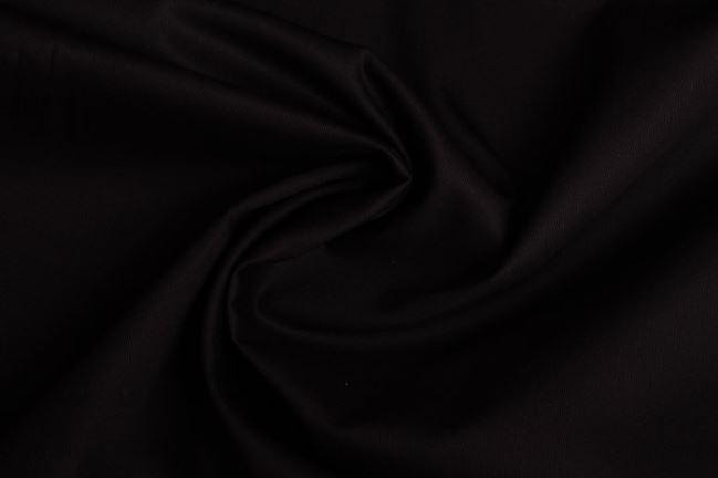 Diagonal bawełniany w kolorze czarnym 02888/069
