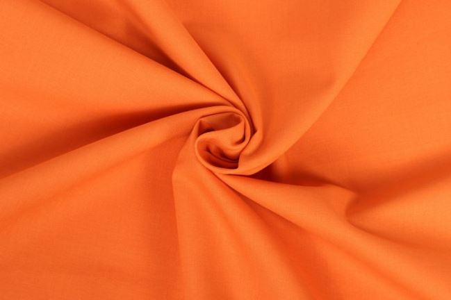 Bawełniane płótno pomarańczowe z Oeko-Tex 100 01805/136