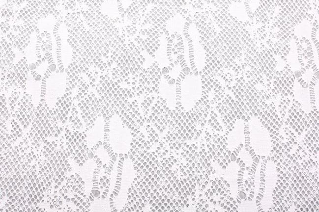 Koronka w kolorze kremowym z cekinami 125.004/5004
