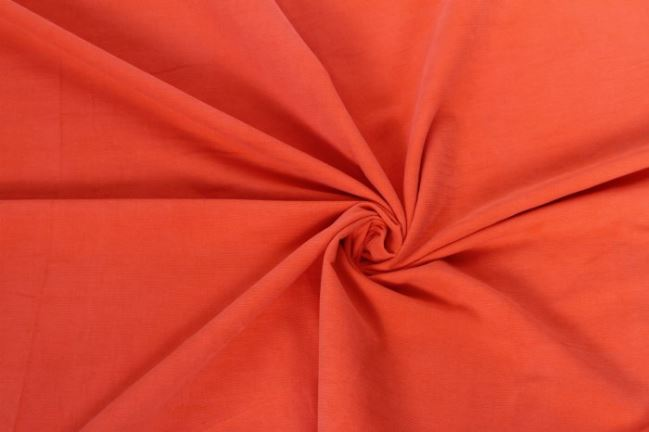 Sztruks drobny pomarańczowy 09471/036