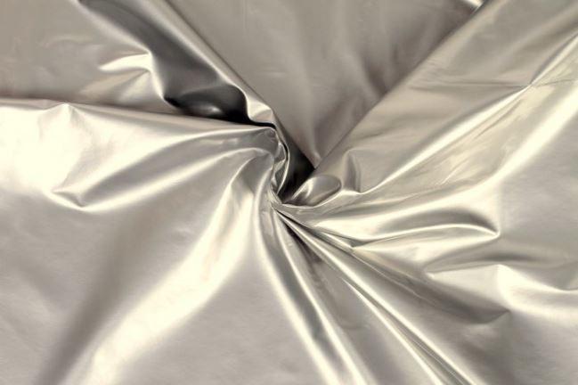 Tkanina lakierowana srebrna 02406/070