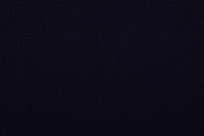 Muślin w kolorze czarnym 03001/069