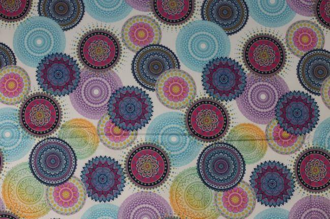 Tkanina dekoracyjna z cyfrowym nadrukiem