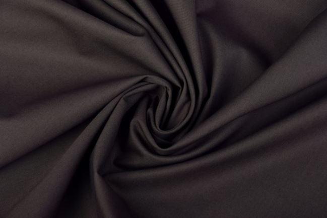 Satyna elastyczna w kolorze szarym ciemnym P126/33