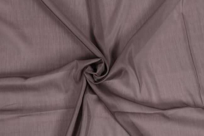 Jedwabny batyst w kolorze szaro brązowym 0294/985