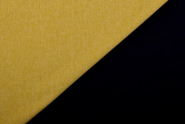 Softshell w kolorze musztardowym z czarnym spodem 10550/034