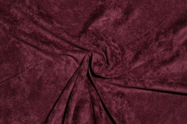 Sztruks w kolorze bordowym 1576/019