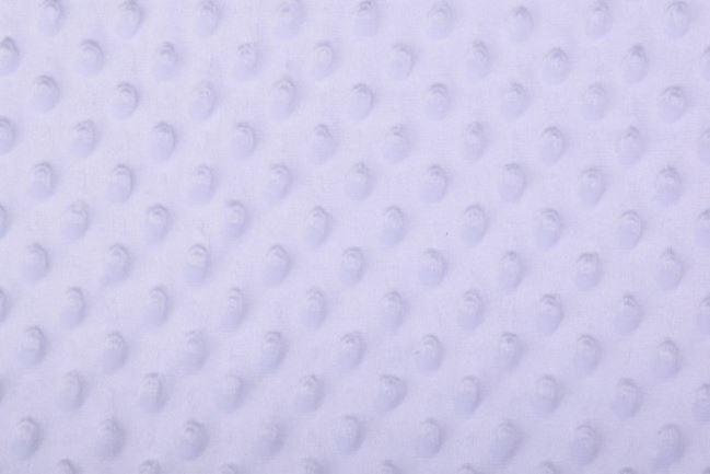 Polar minky biały w kropki 03347/050