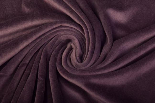 Niky welur w kolorze śliwkowym 0173/800