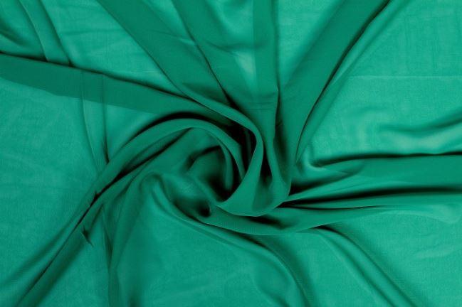 Szyfon w kolorze zielonym 03969/028