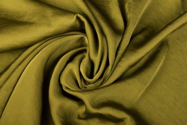 Sztuczny jedwab w kolorze zielonym 0296/312