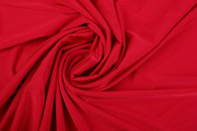 Lycra w kolorze czerwonym z połyskiem 00365/015