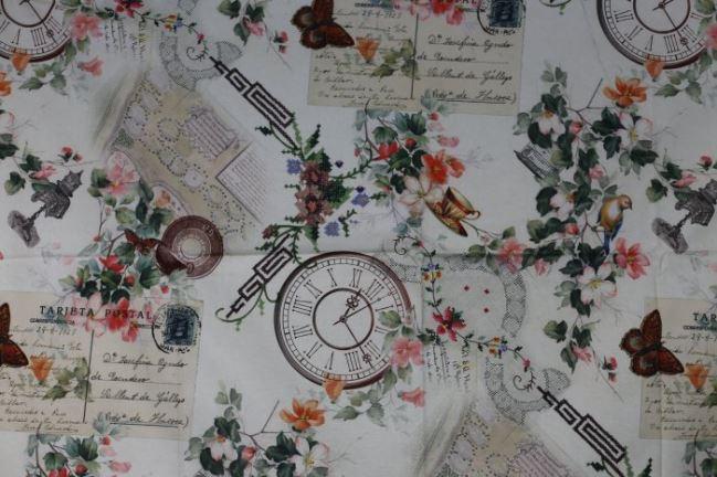 Tkanina dekoracyjna z cyfrowym nadrukiem 1082/015
