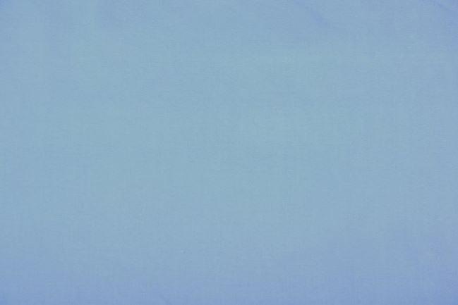 Satyna bawełniana elastyczna niebieska 96159/001