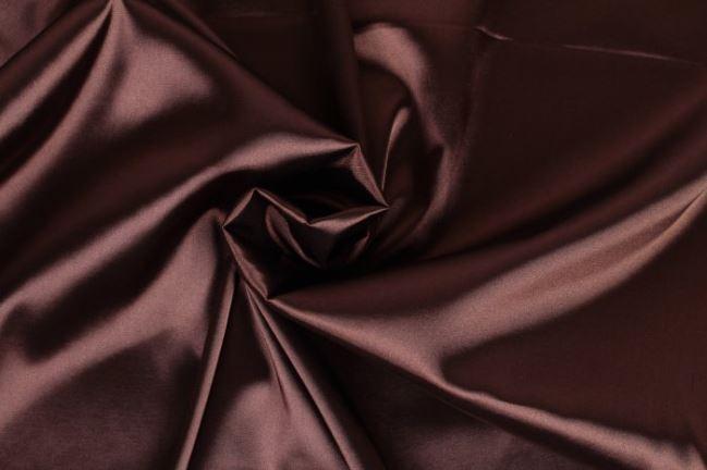Satyna elastyczna czekoladowa 04241/055