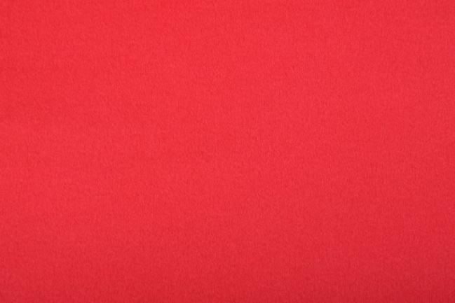 Flausz kaszmirowy z włosem w kolorze czerwonym PE213