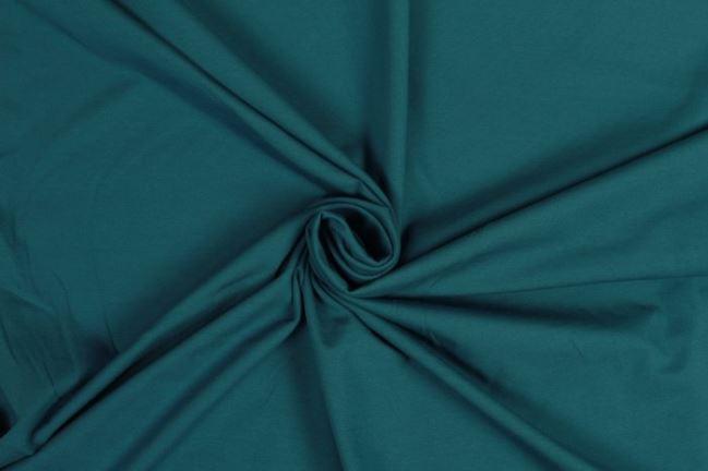 Dzianina bawełniana w kolorze niebieskim 05438/224
