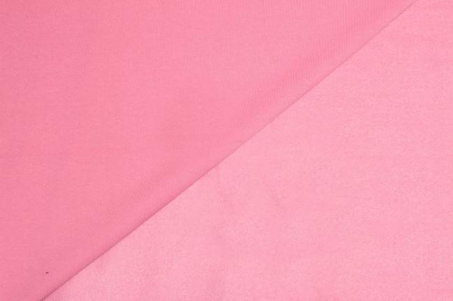 Dzianina dresowa drapana jasno różowa 05650/011