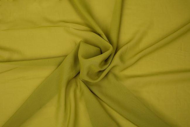 Szyfon w kolorze groszkowym 03969/026