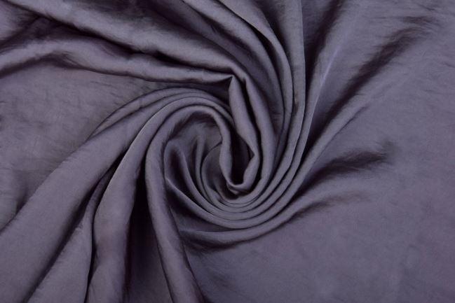Sztuczny jedwab w kolorze antracytowym 0296/985