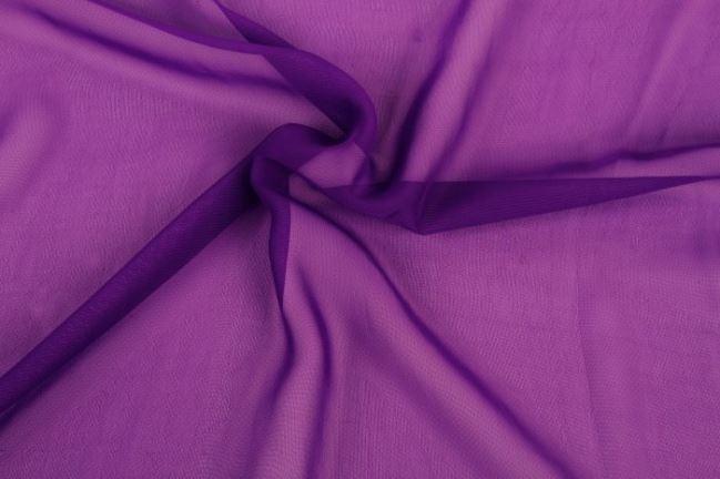 Szyfon w kolorze fioletowym 03969/045