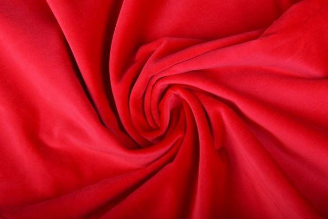 Aksamit w kolorze czerwonym 999/3383