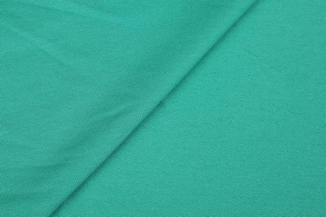 Dzianina dresowa French Terry w kolorze zielonym 02775/025