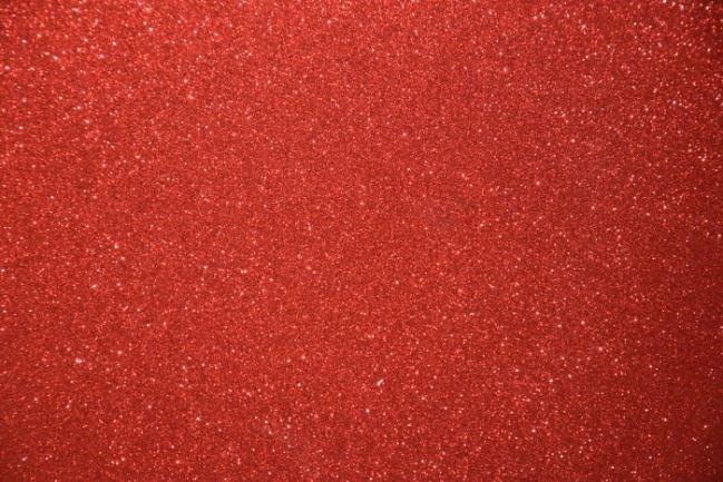 Pianko-guma czerwona z brokatem 126.336/5019