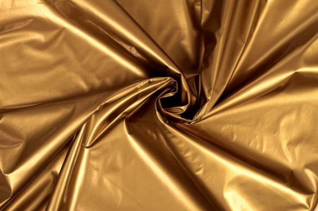 Tkanina lakierowana złota 02406/080