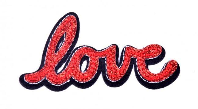 Aplikacja do naprasowania Love TH161