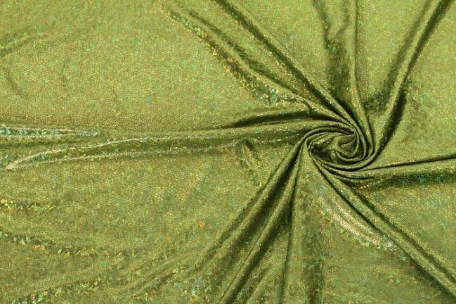 Lama pistacjowa wzorzysta 02213/023