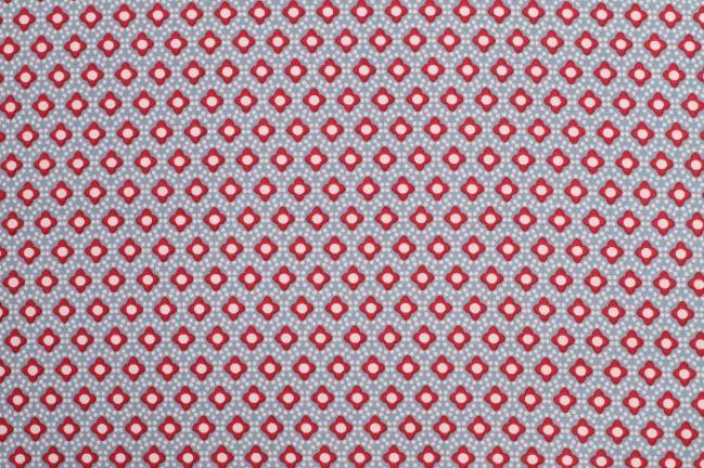 Tkanina bawełniana ze wzorem 6496/63