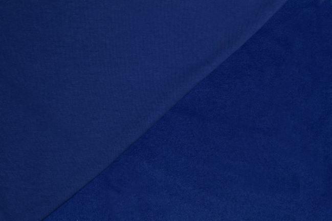 Dzianina dresowa drapana niebieska 05650/005