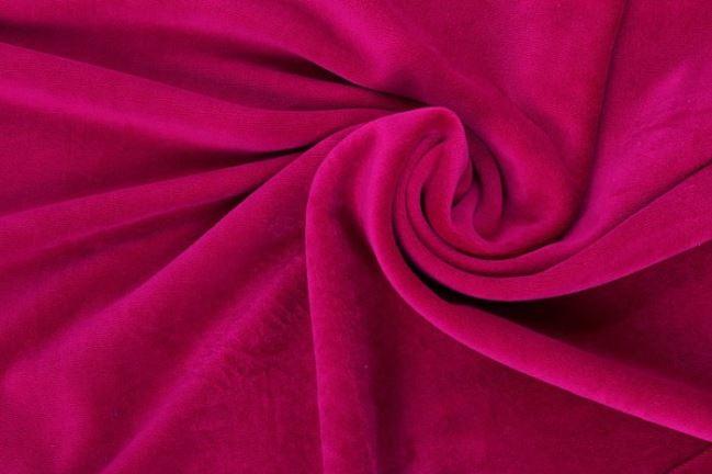 Niky welur ciemno różowy 0173/860