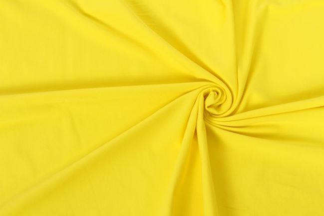Dzianina bawełniana w kolorze żółtym 05438/035