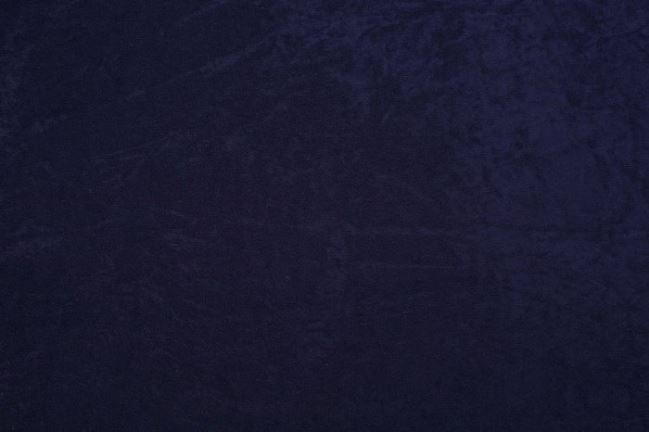 Aksamit w kolorze granatowym 08800/008