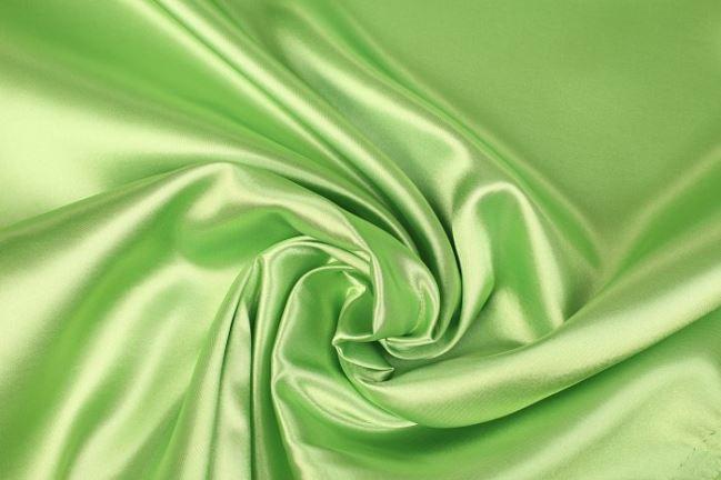 Satyna w kolorze zielonego groszku 0141/315