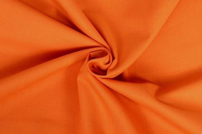 Bawełniane płótno ciemno pomarańczowe z Oeko-Tex 01805/036